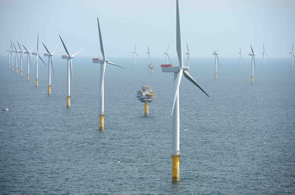 The Sheringham Shoal Offshore Wind Farm, the UK's single largest in operation, will be opened today by Crown Prince Haakon of Norway