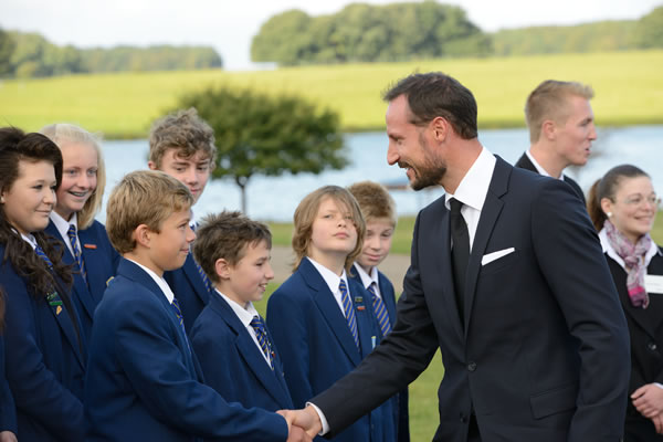 Crown Prince Haakon of Norway officially opened the Sheringham Shoal Offshore Wind Farm yesterday.