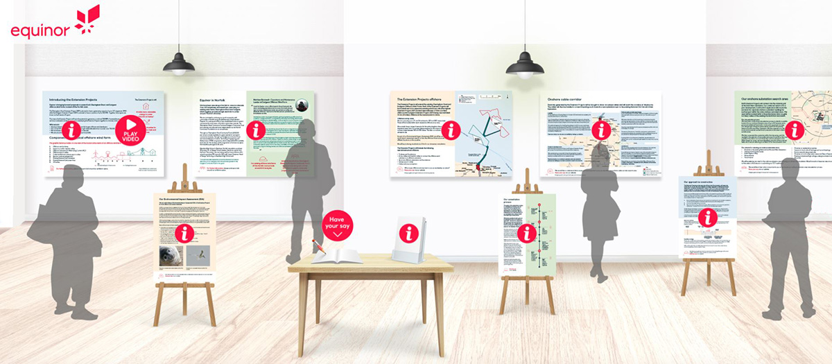 Equinor's virtual exhibition