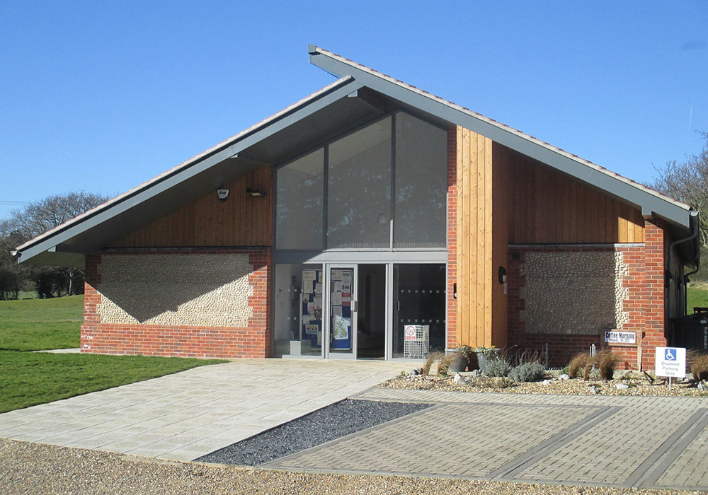 The new Trimingham Village Hall
