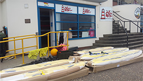 New equipment has arrived at North Norfolk Surf Life Saving Club in Cromer