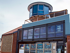 The Sheringham Shoal Offshore Wind Farm Visitor Centre